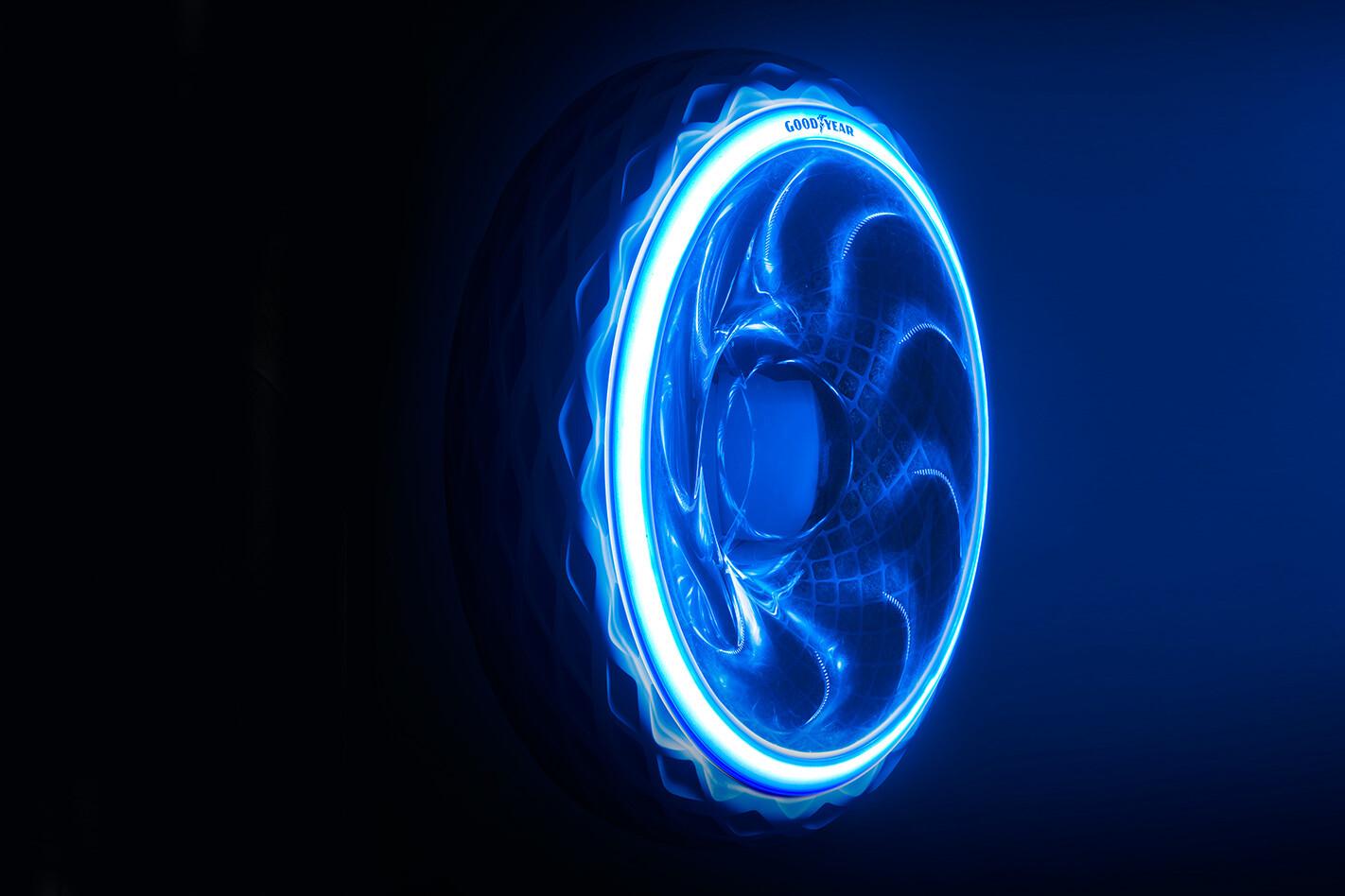Goodyear Oxygene Tyre Glow Up Jpg