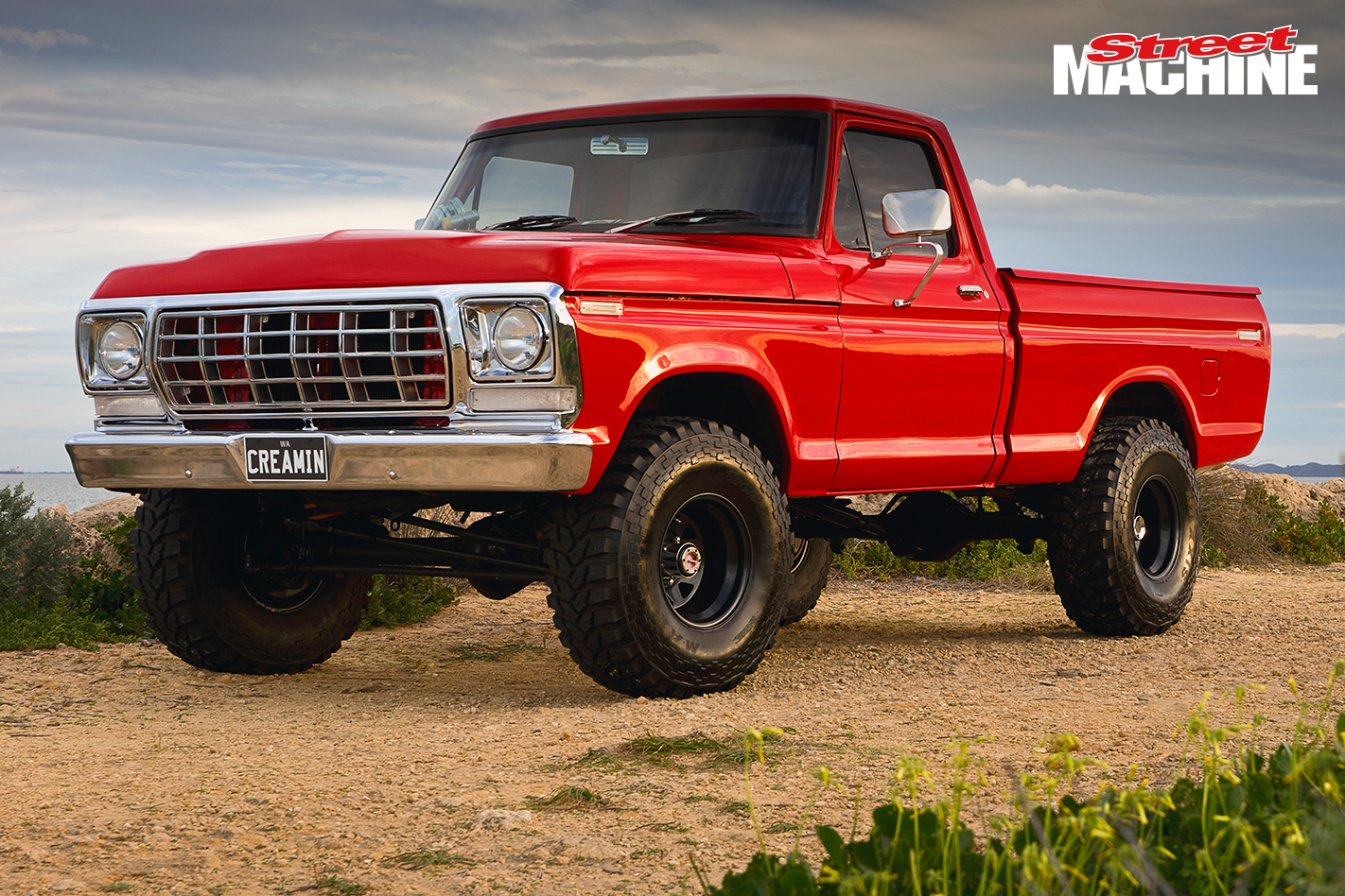 Ford F100 Lifted 351 2