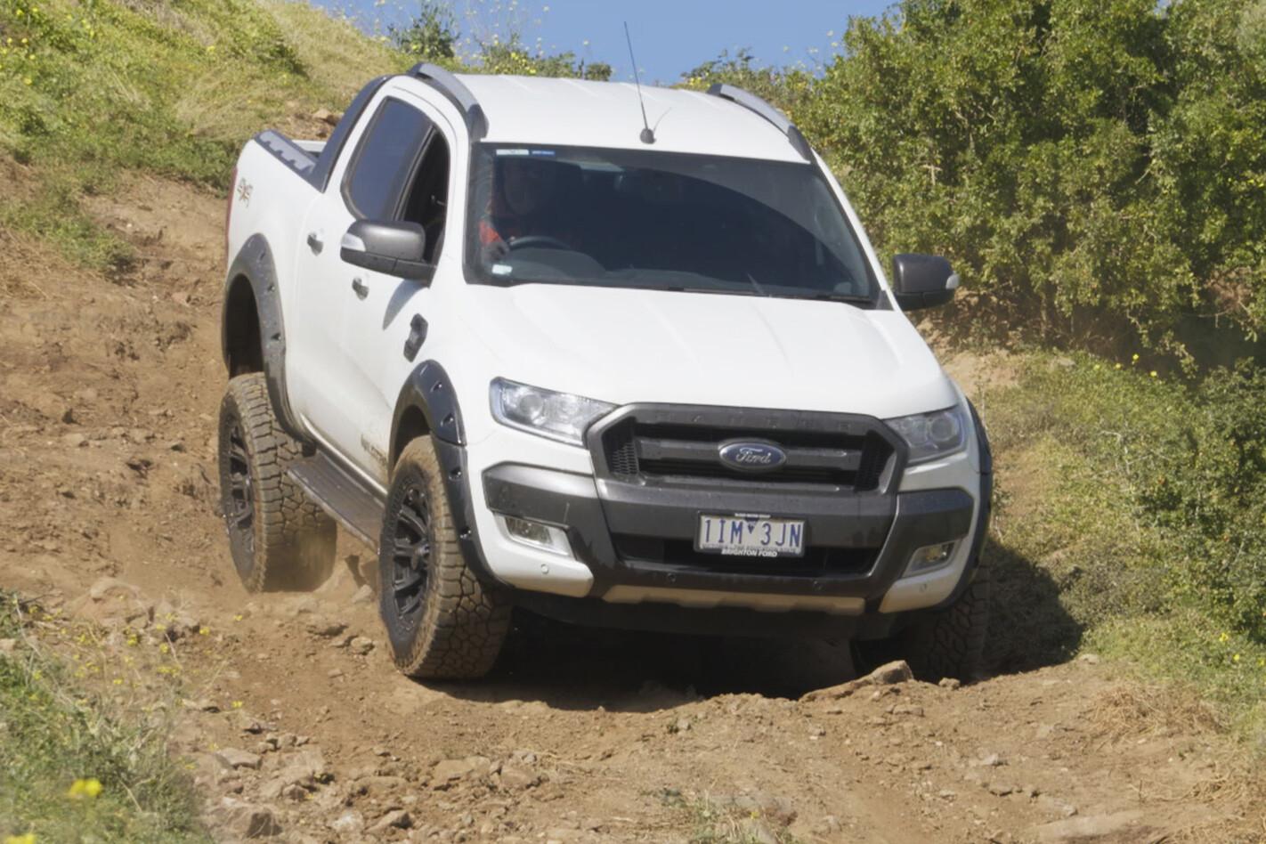 Ford Ranger with Falken Wildpeak AT3W tyres