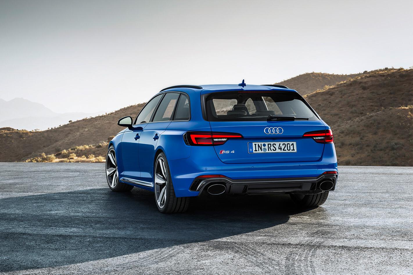 2018 Audi RS4 Avant rear