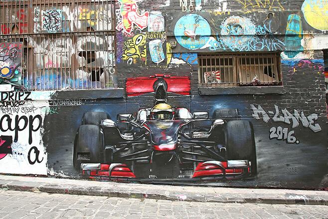 F1 Hosier Lane Melbourne