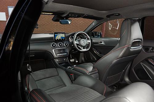 Mercedes-Benz A180 interior