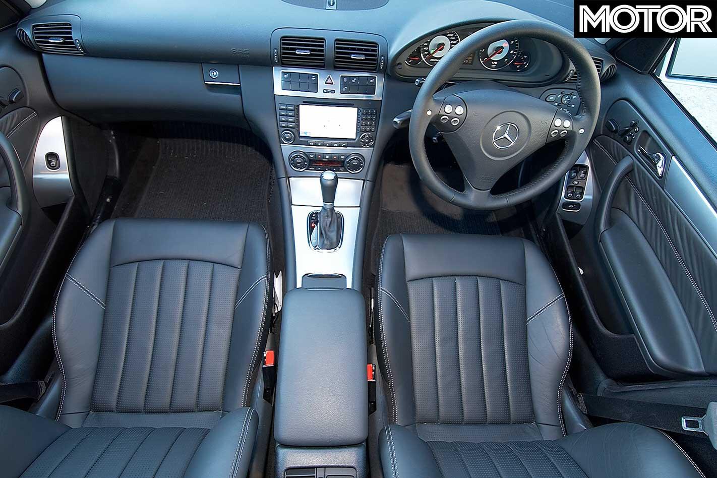 2005 Mercedes Benz C 55 AMG Interior Jpg
