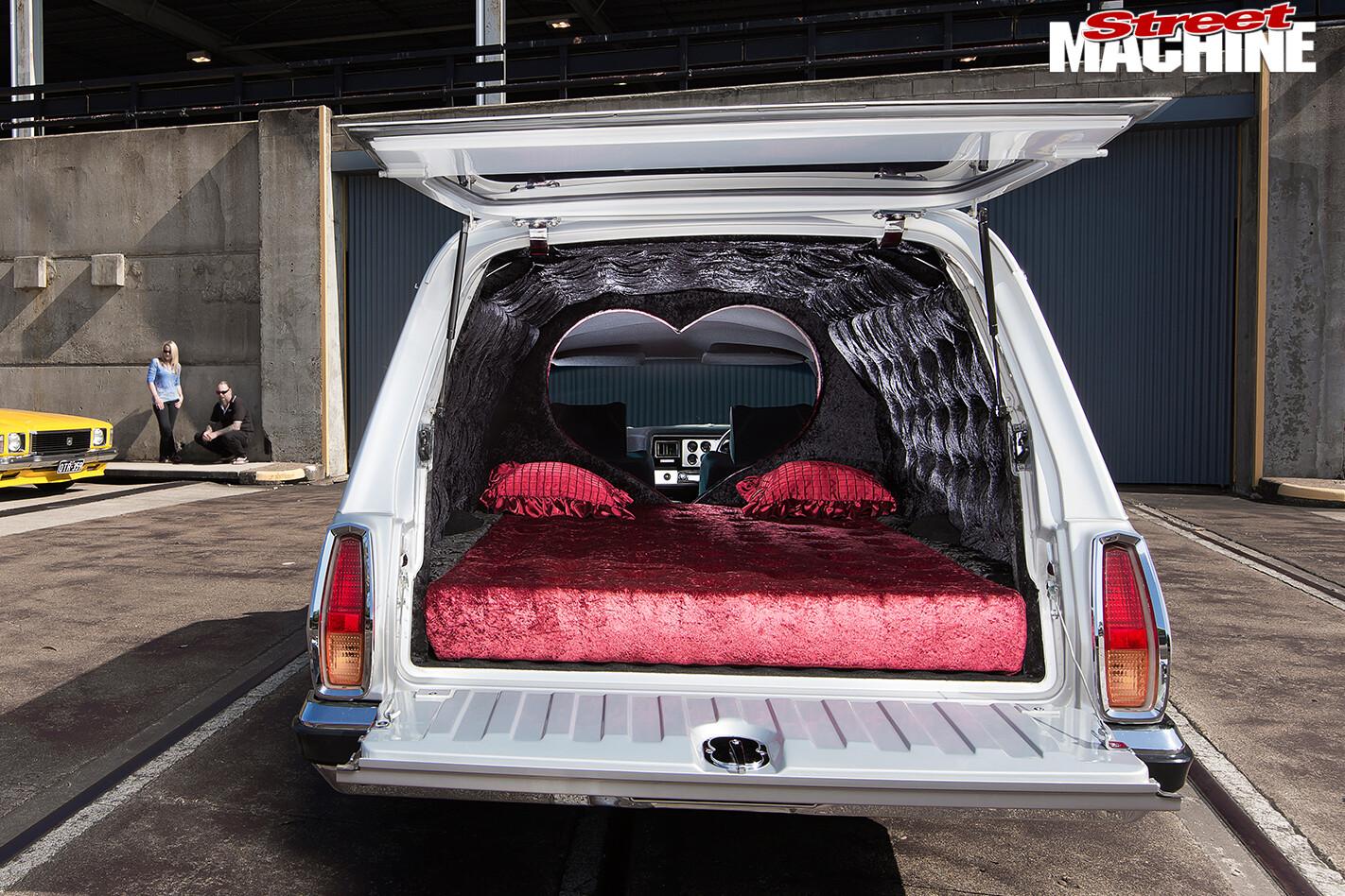 Holden -HX-Sandman -rear -hatch -open