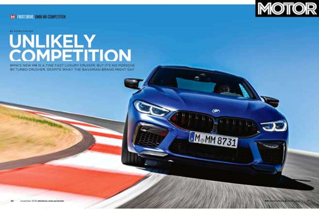 MOTOR Magazine November 2019 Issue Preview BMW M 8 Jpg