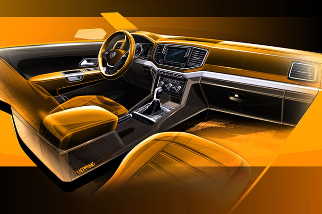 2017 Volkswagen Amarok Interior Jpg