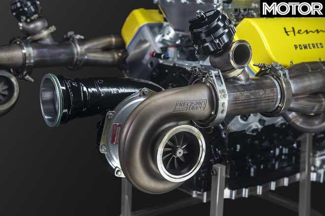 Hennessey Venom F 5 V 8 Engine Turbochargers Jpg