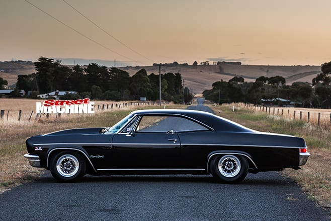 chev impala profile