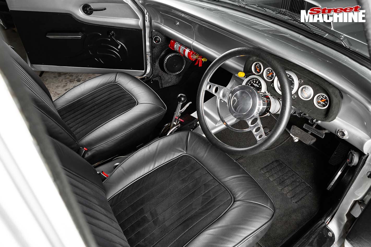 Ford Falcon XP interior