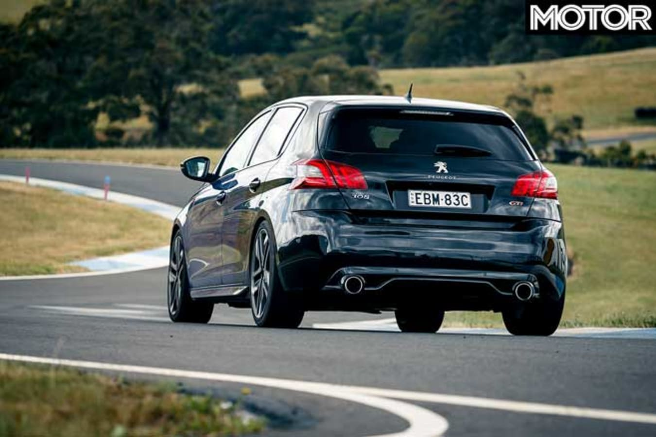Peugeot 308 G Ti Long Term Review Update 4 Track Drive Rear Jpg