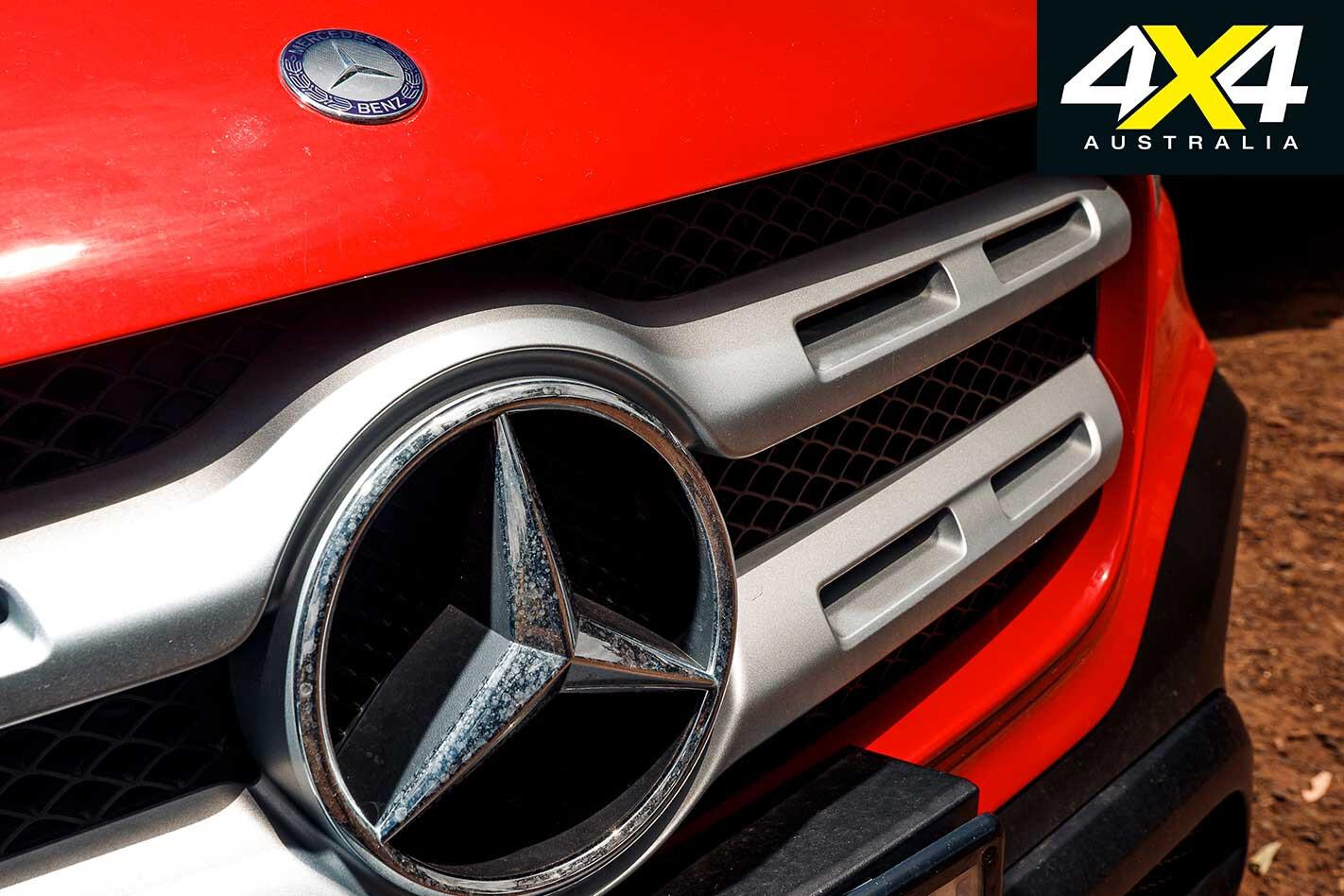 Mercedes Benz X 250 D Progressive Front Grille Jpg