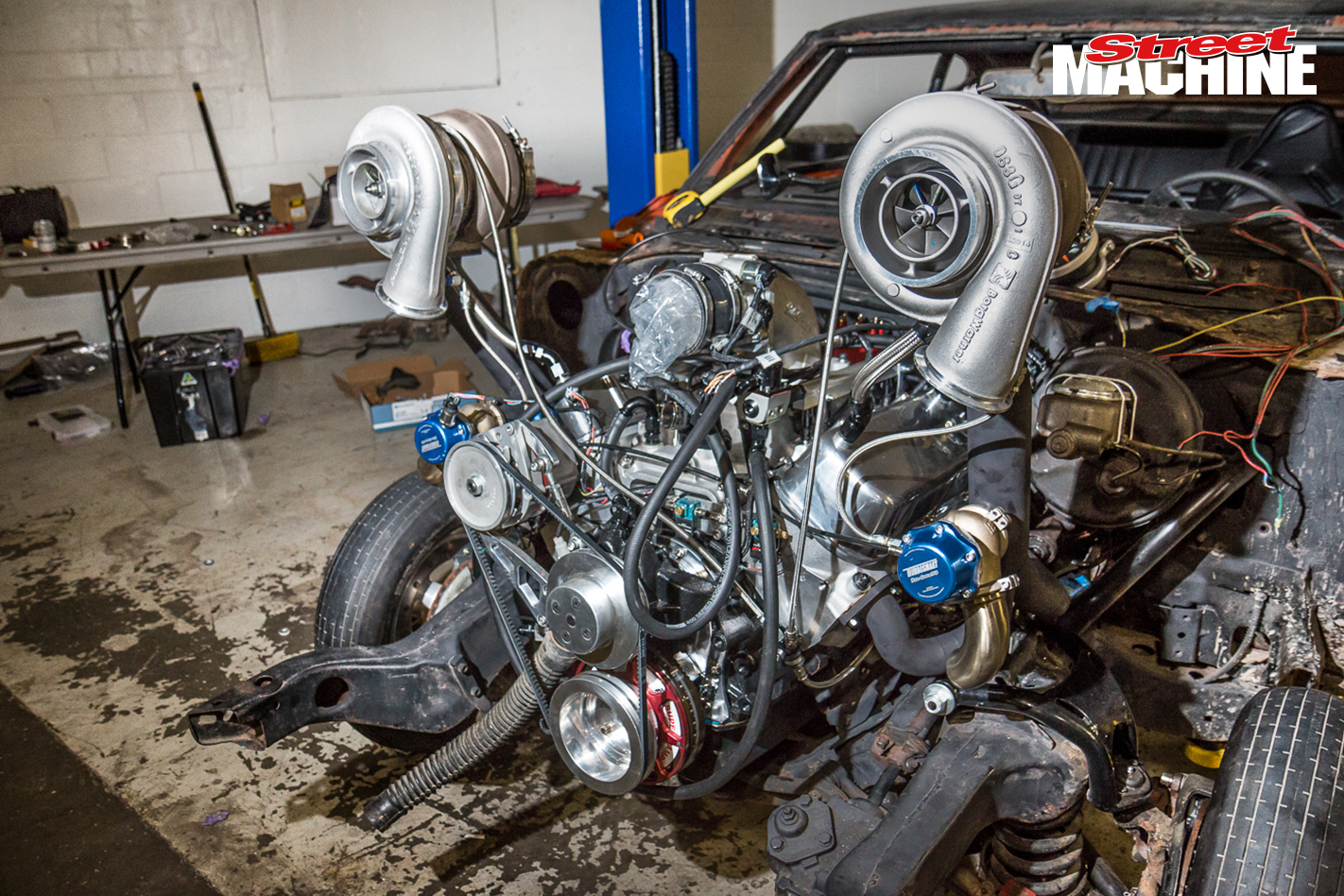 Chevy Chevelle Big Block Twin Turbo Drag Week 4