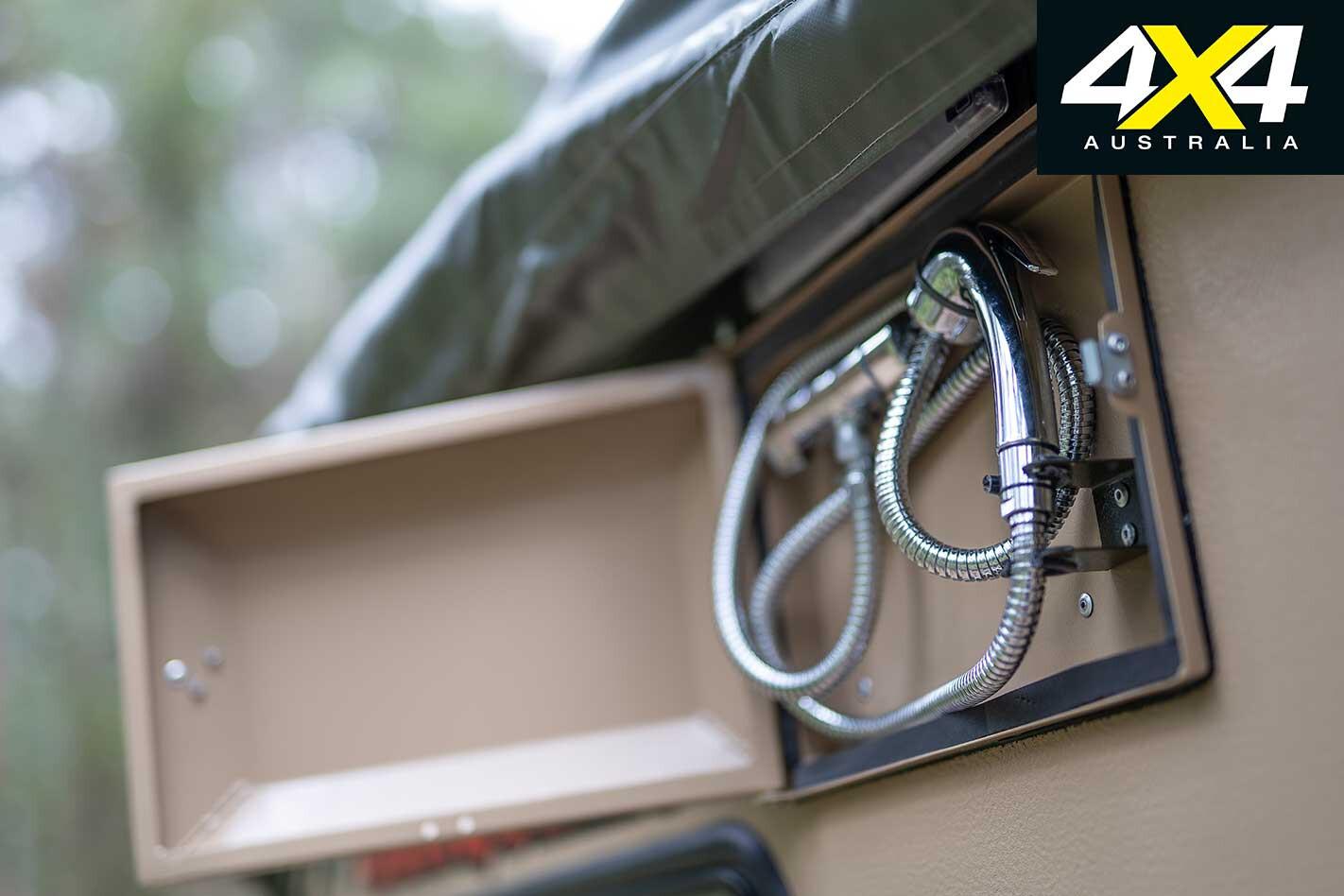 Conquerer UEV 490 Camper Trailer Shower Jpg