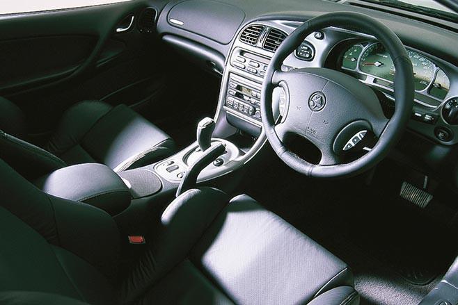 Holden Monaro CV8 interior