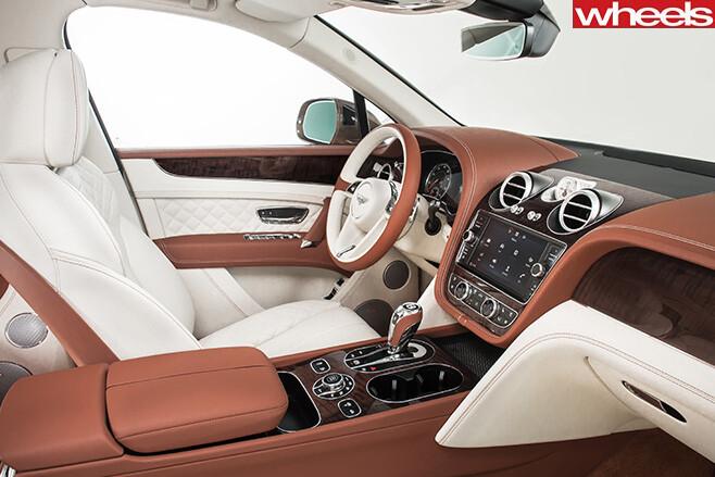 Bentley -bentayga -cabin