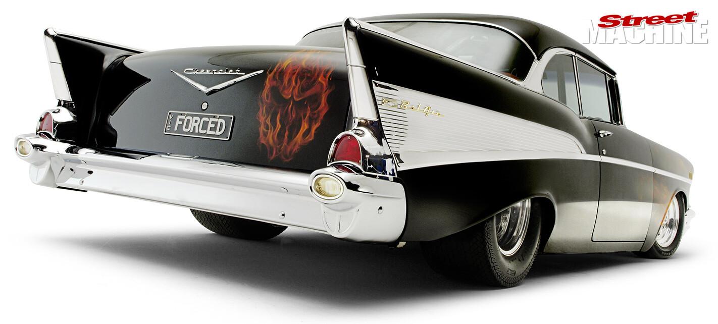 1957 Chev rear