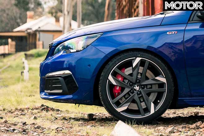 Peugeot 308 G Ti Long Term Review Update 4 Front Wheel Jpg