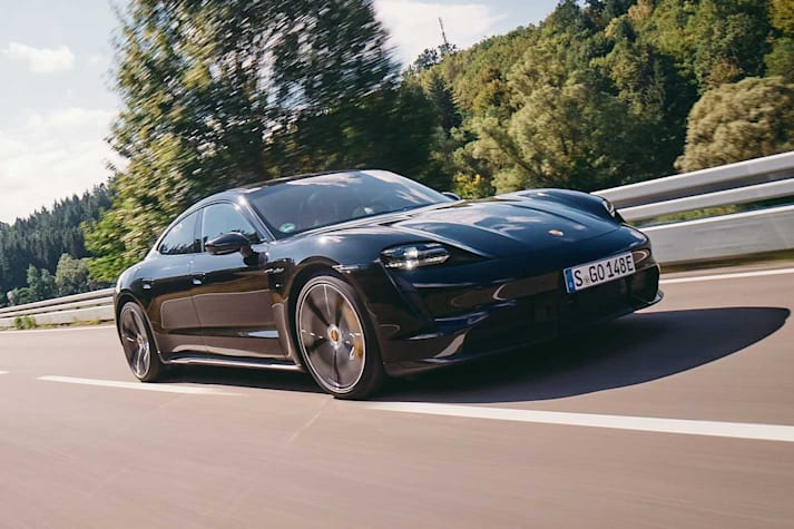 2020 Porsche Taycan Turbo S first drive performance review