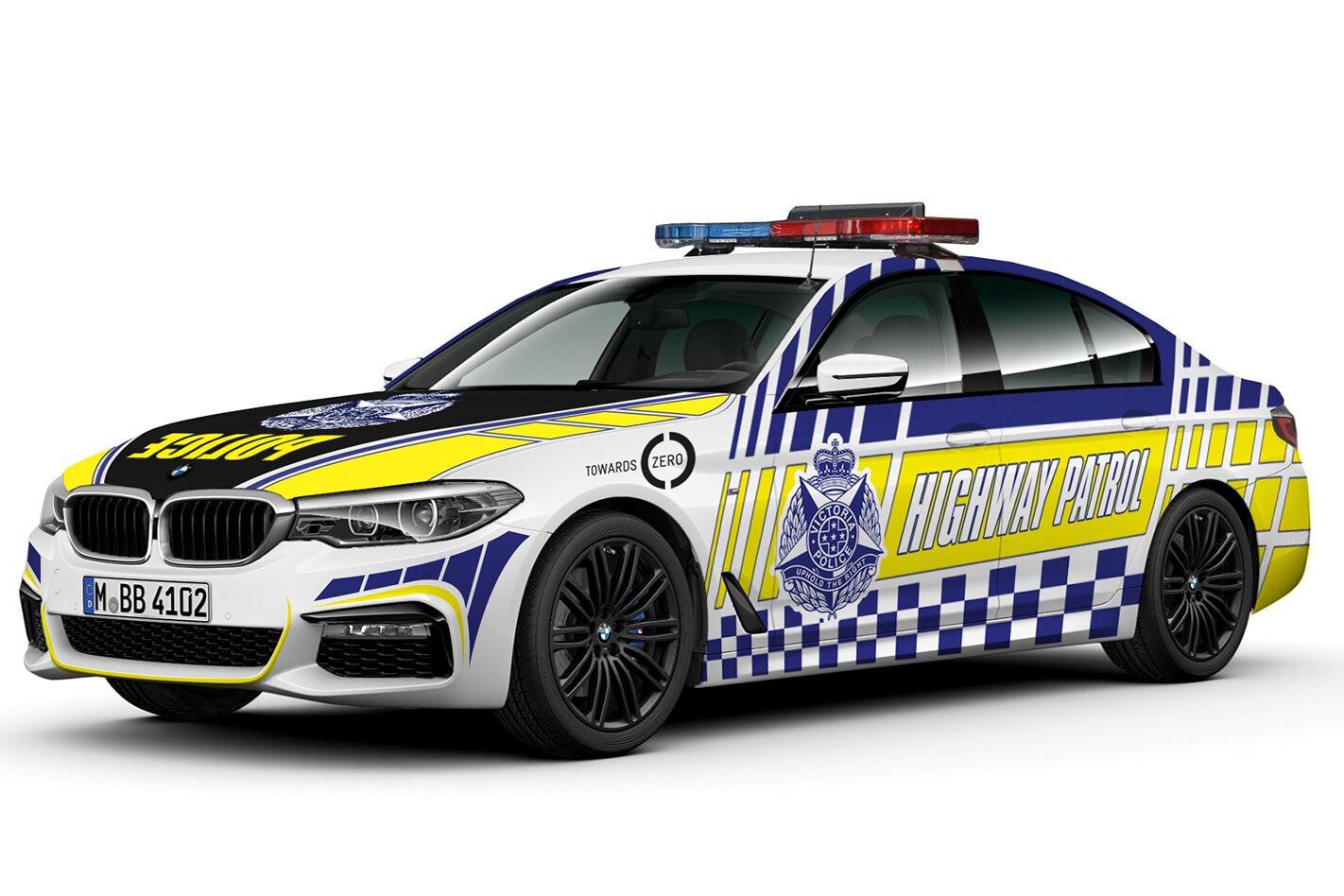 Victoria Police BMW 5 Series