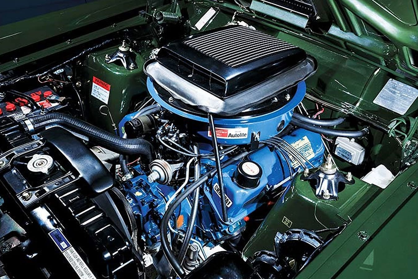 Ford Falcon XY GT-HO Phase III engine bay