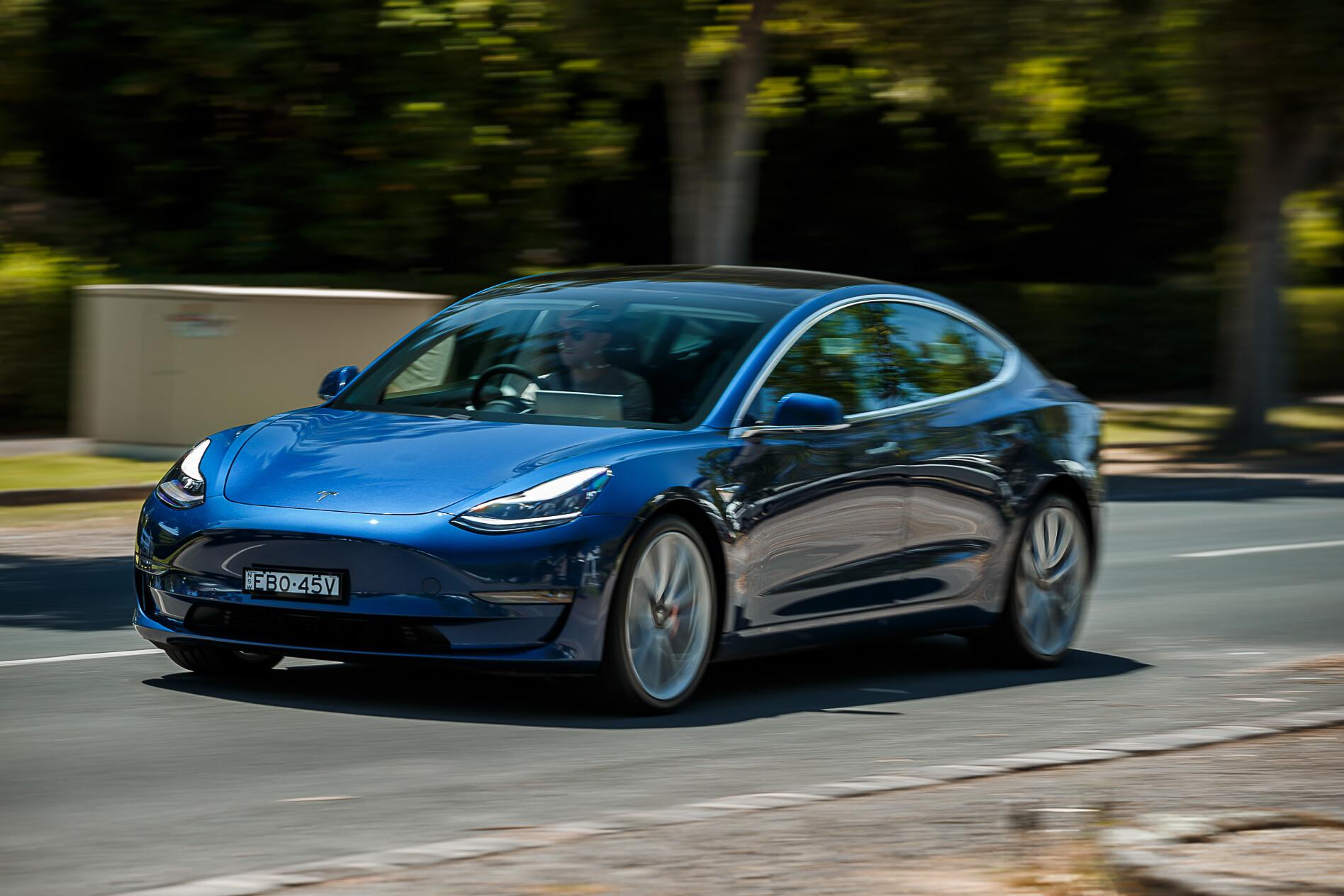 WCSA 2020 winner Tesla Model 3