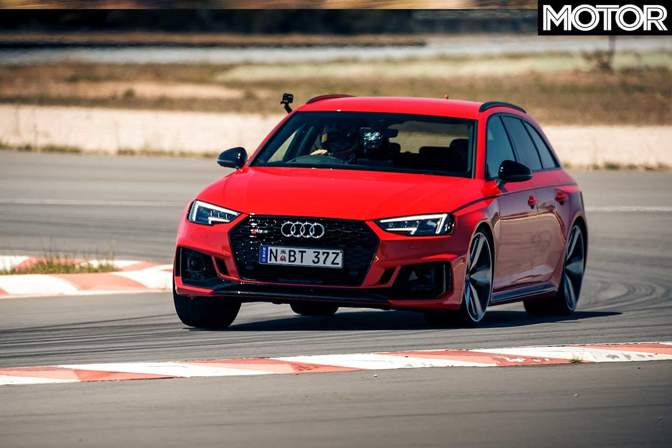 Performance Car Of The Year 2019 6th Place Audi RS 4 Avant Track Test Front Jpg