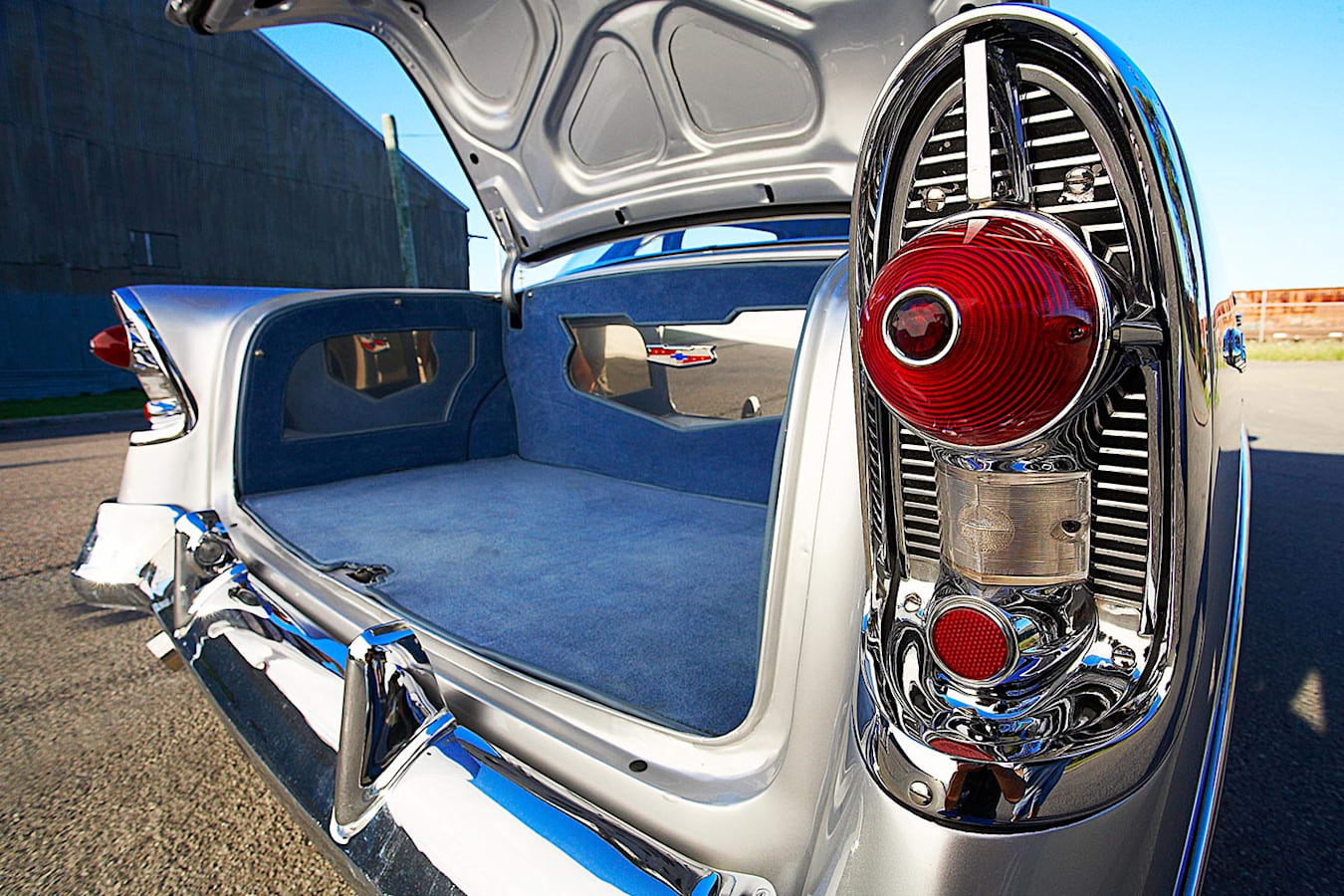 Chev 210 tail fins