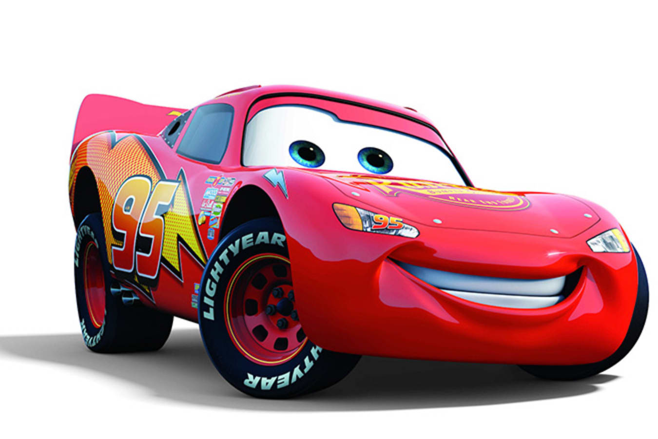 Lightning McQueen from Cars