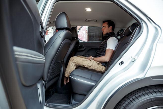 Hyundai Venue rear seat