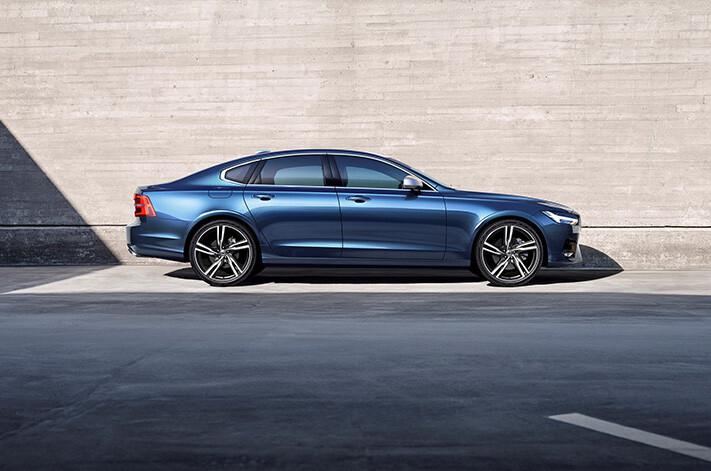 Volvo S 90 R Design Side Profile Jpg