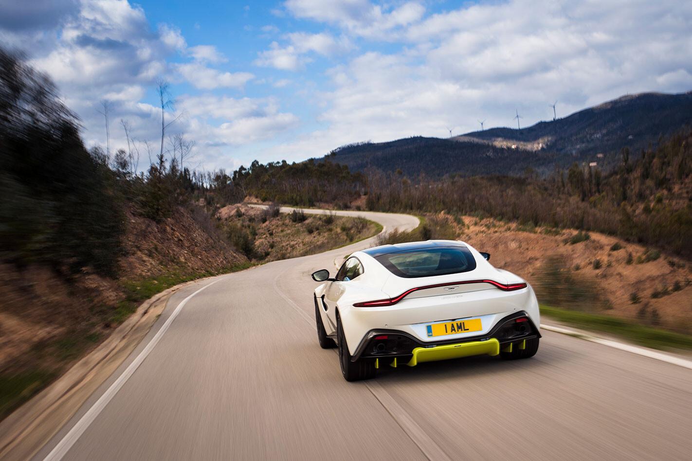 2018 Aston Martin Vantage rear