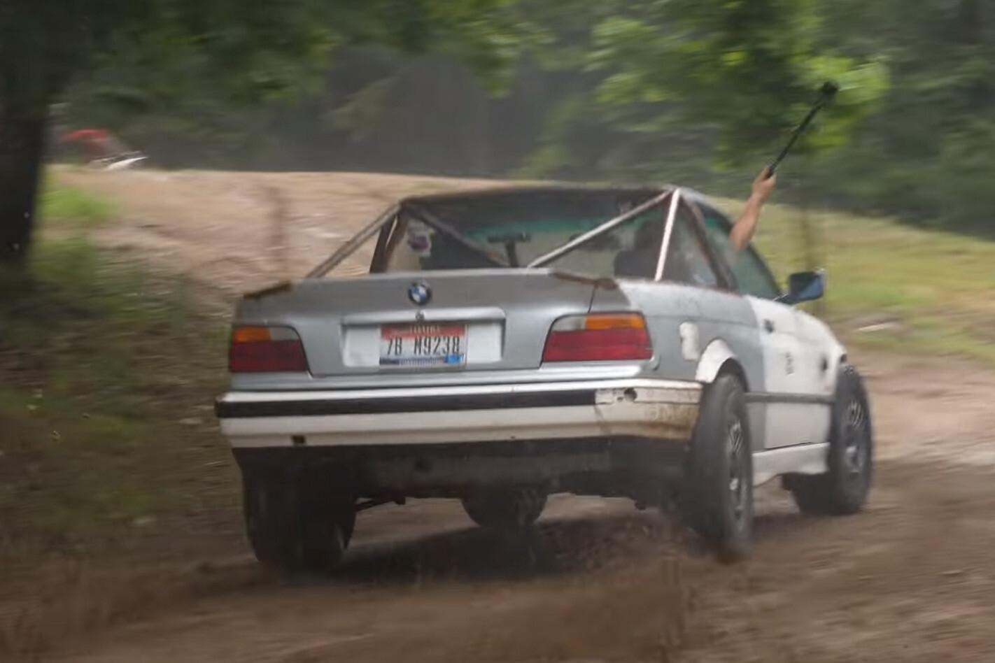 BMW E36 rally ute