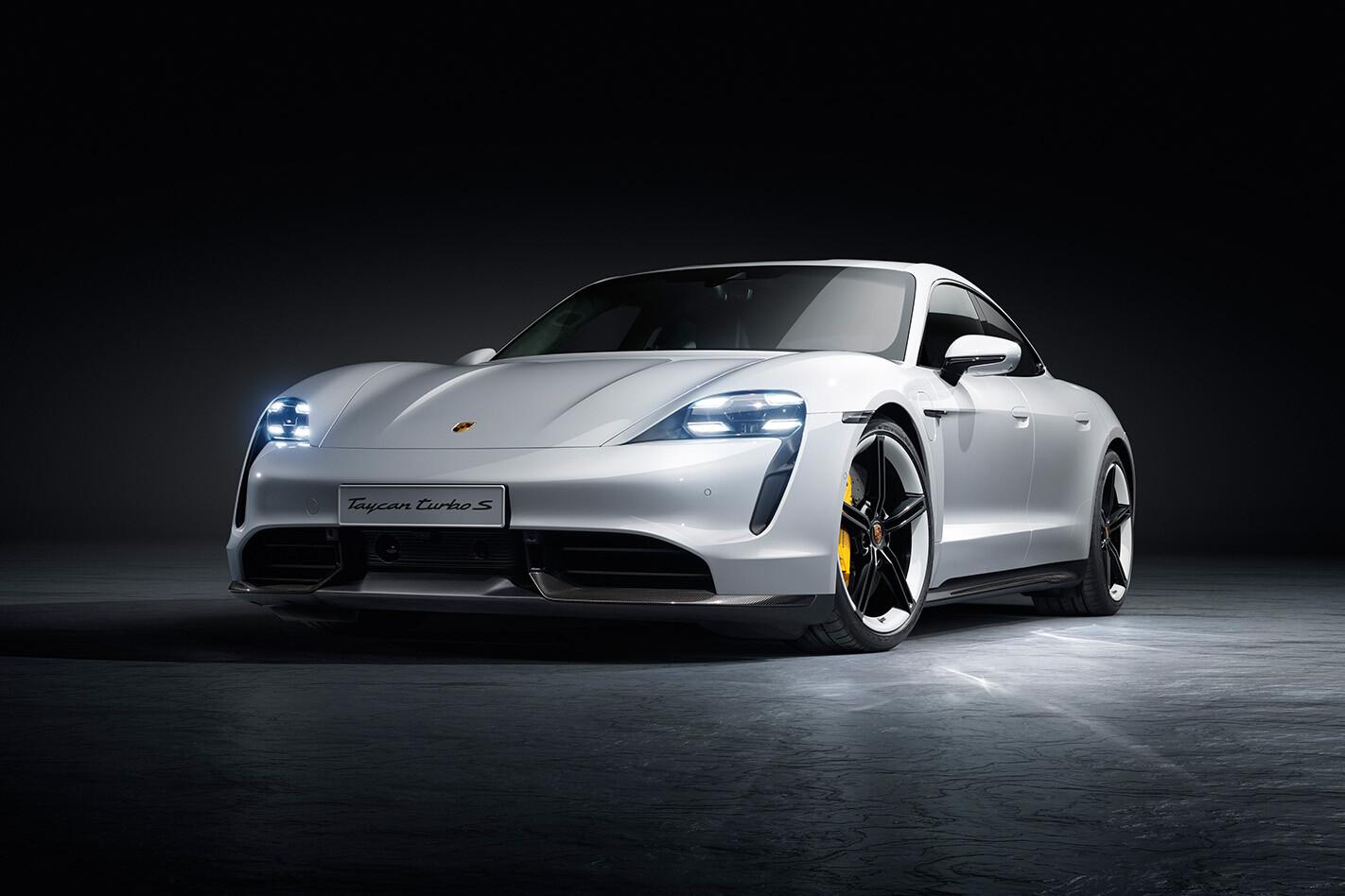 Porsche Taycan Studio Front Jpg