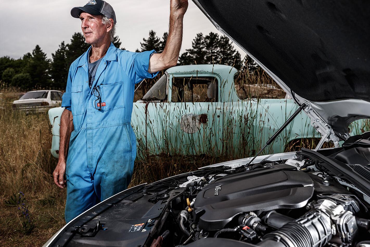 2018 Holden Commodore engine check