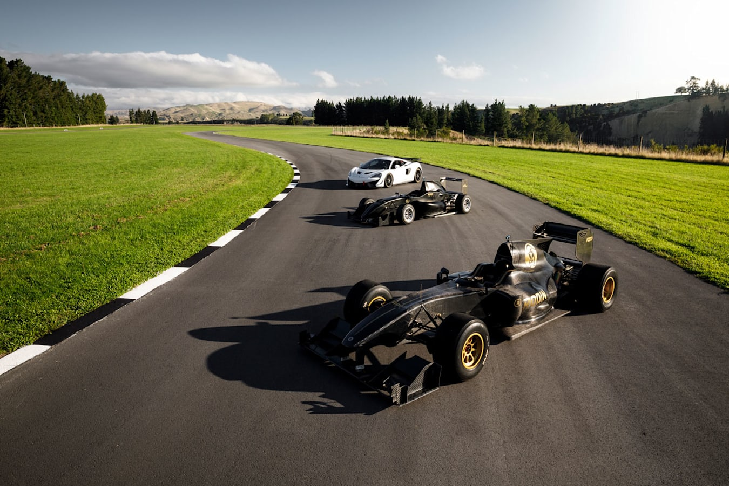 Rodin track in New Zealand