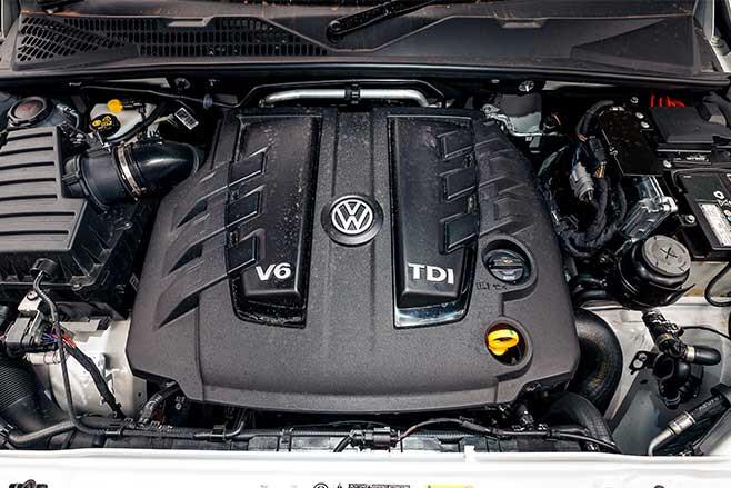 Volkswagen Amarok V6 engine