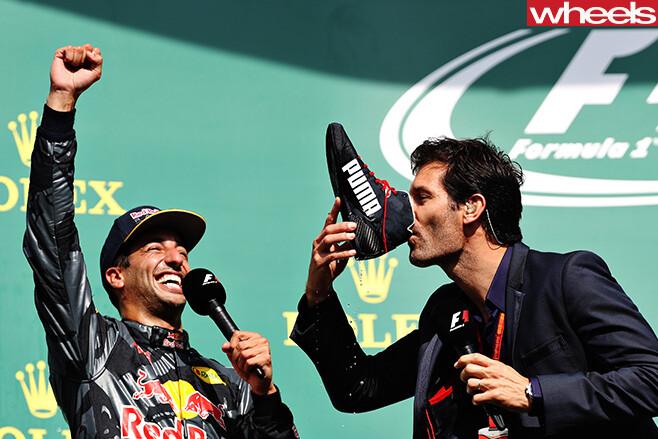 Mark -Webber -with -Daniel -Ricciardo