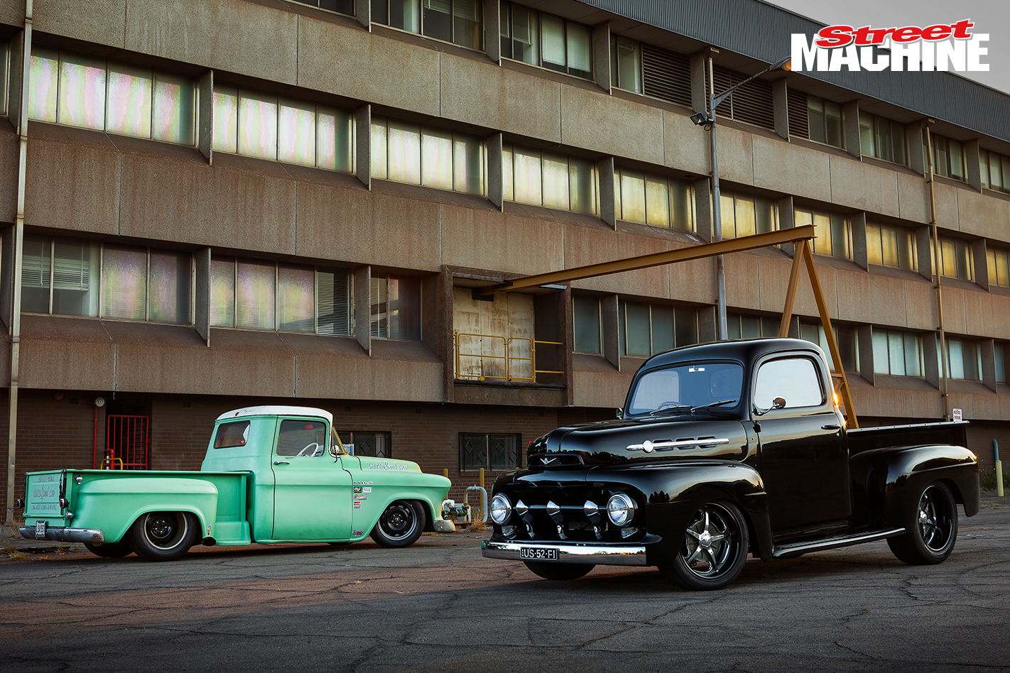 52 Ford F1 Pick Up 1