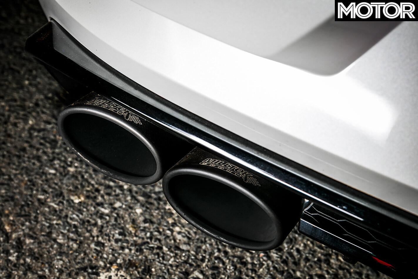 Volkswagen Golf R exhaust