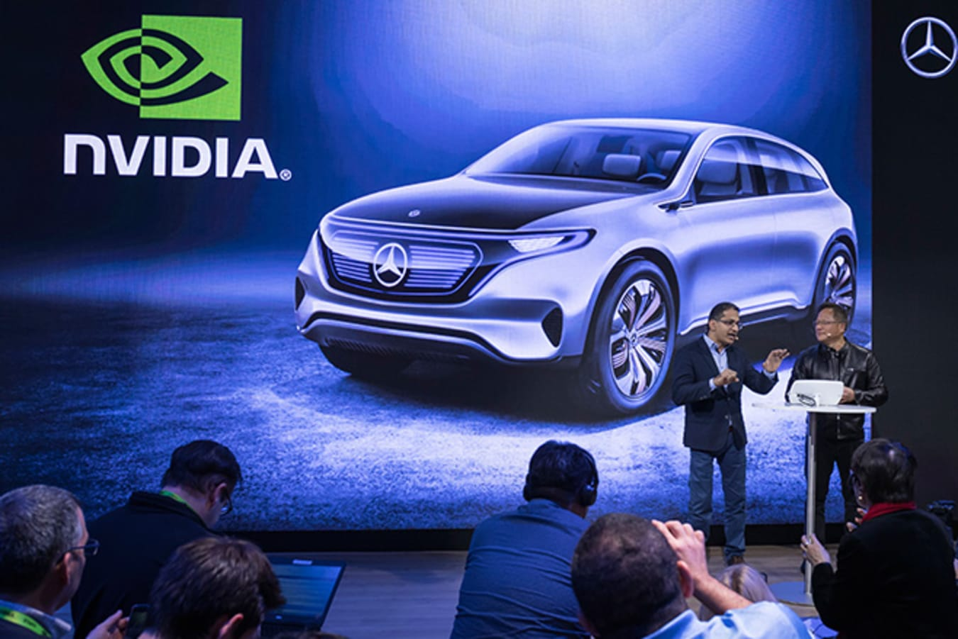 Nvidia Technology in Mercedes-Benz SUV