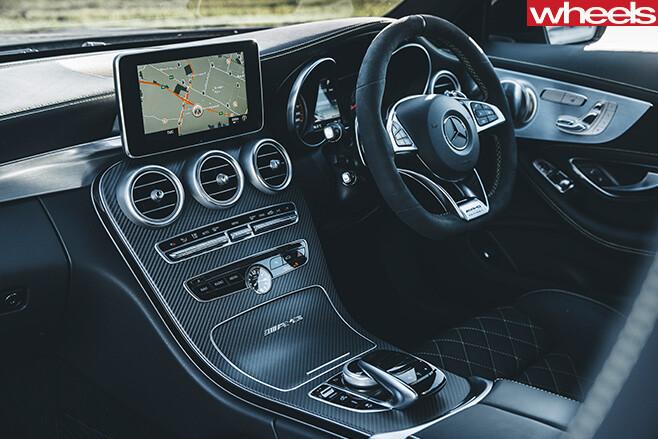 Mercedes -AMG-C63-interior