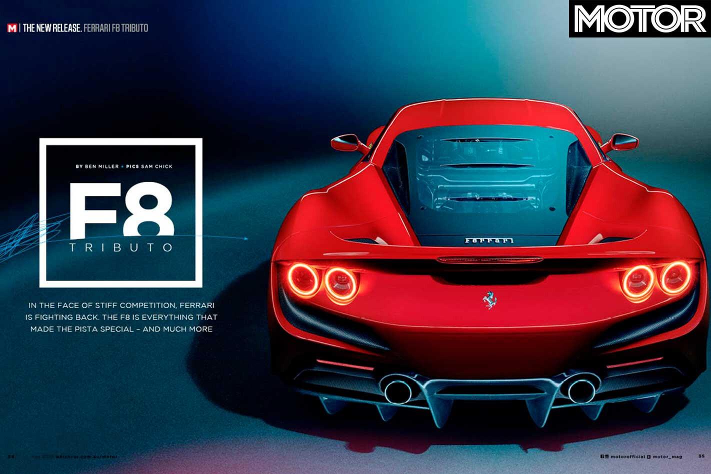 MOTOR Magazine May 2019 Issue Preview Ferrari F 8 Tributo Detailed Jpg