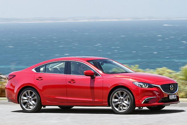 Mazda 6 driving side