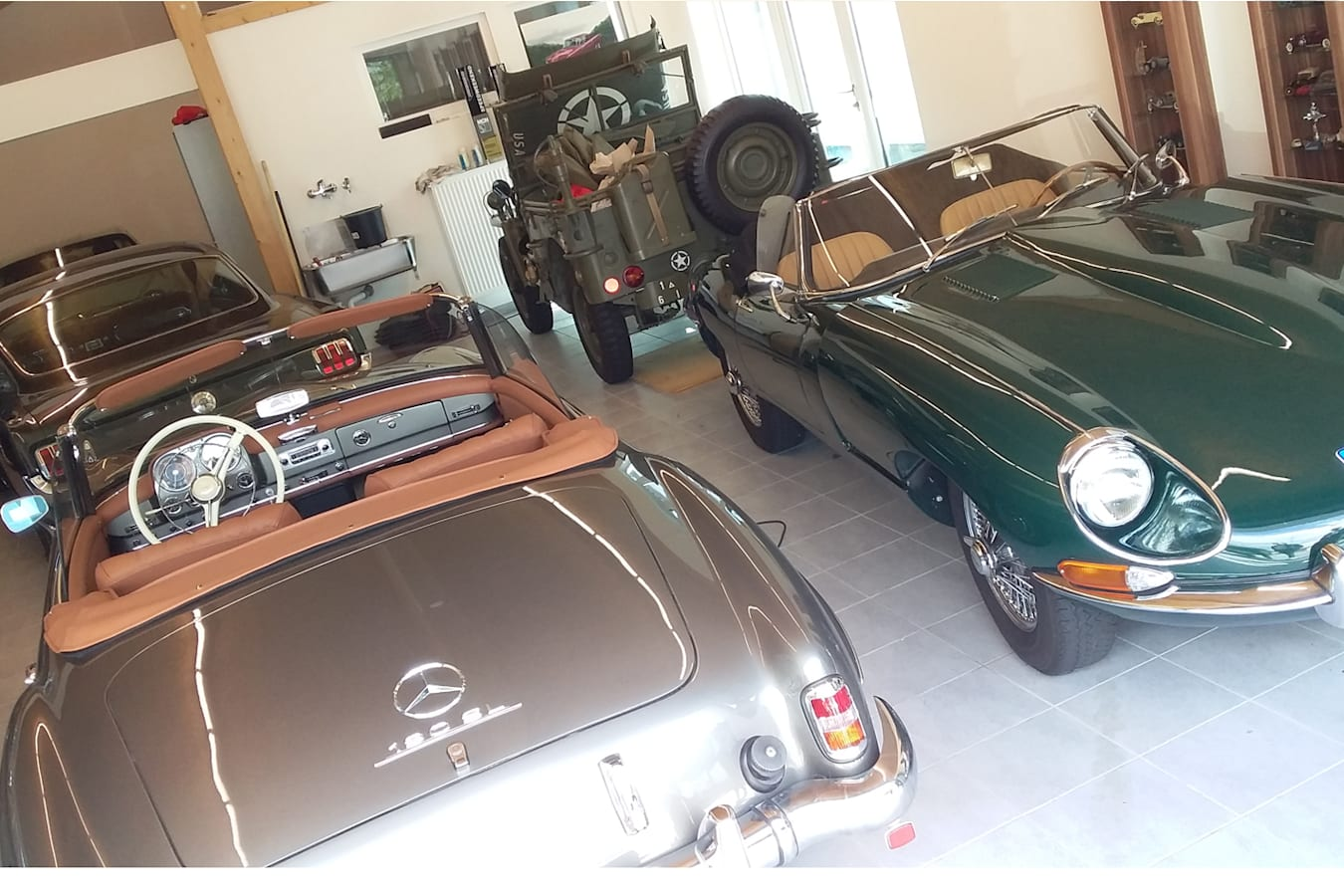 Petrolhead garage
