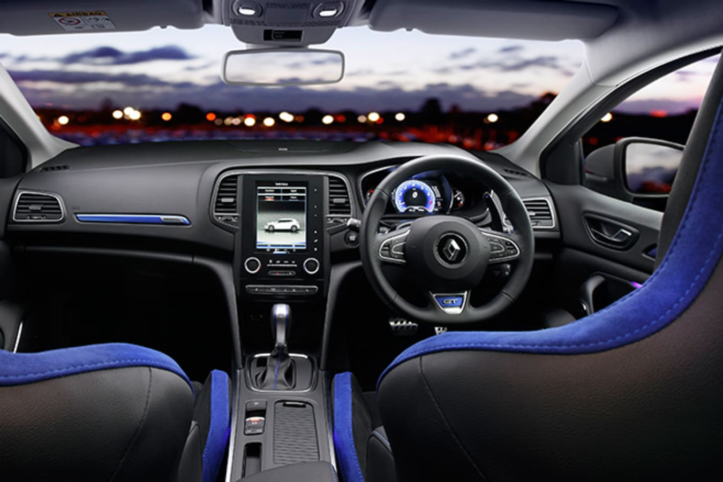 2016 Renault Megane GT interior