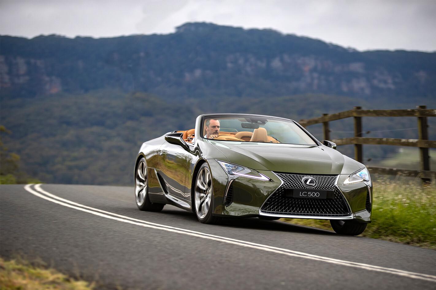 2021 Lexus LC500 Convertible review