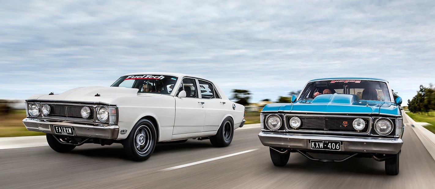 TWO SEVEN-SECOND XW STREETERS