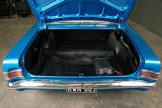 Holden HK PRemier boot