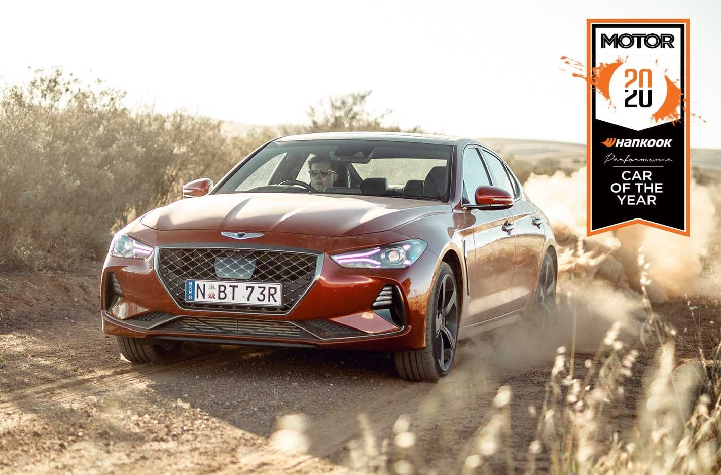 Genesis G70 Performance Car of the Year 2020 results