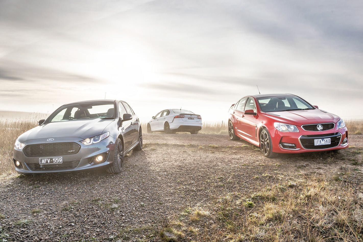 2016 Holden Commodore Last bragging rites